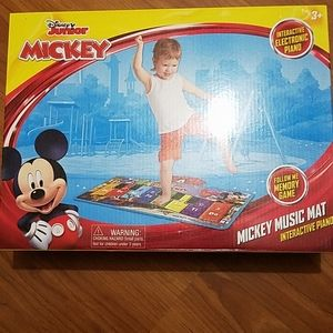 Disney junior Mickey music mat interactive piano